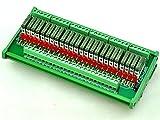 ELECTRONICS-SALON Slim DIN Rail Mount DC5V Sink/NPN 24 SPST-NO 5A Power Relay Module, PA1a-5V