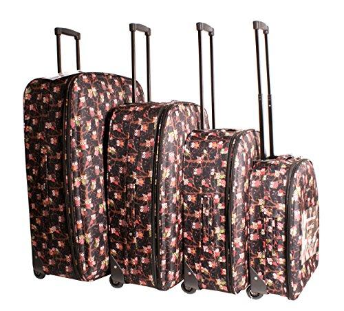 Travel Lite – Juego de maletas  unisex adulto negro Luggage set