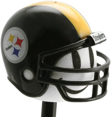 Pittsburgh Steelers Football Helmet Antenna Topper