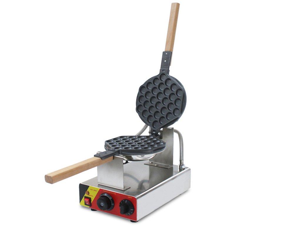 110V/220V Egg Puff Bubble Electric Oven QQ Egg Waffle Maker Baking Machine 1kw (110V USA plug)