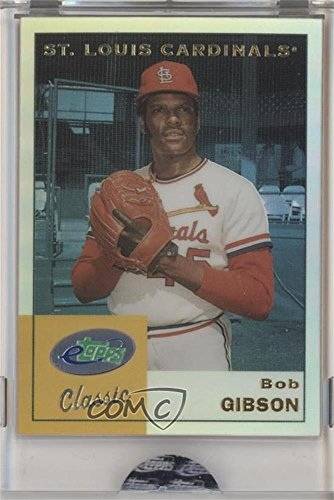 Bob Gibson Manufacturer ENCASED Uncirculated (Baseball Card) 2002 eTopps Classic - [Base] #ETC7
