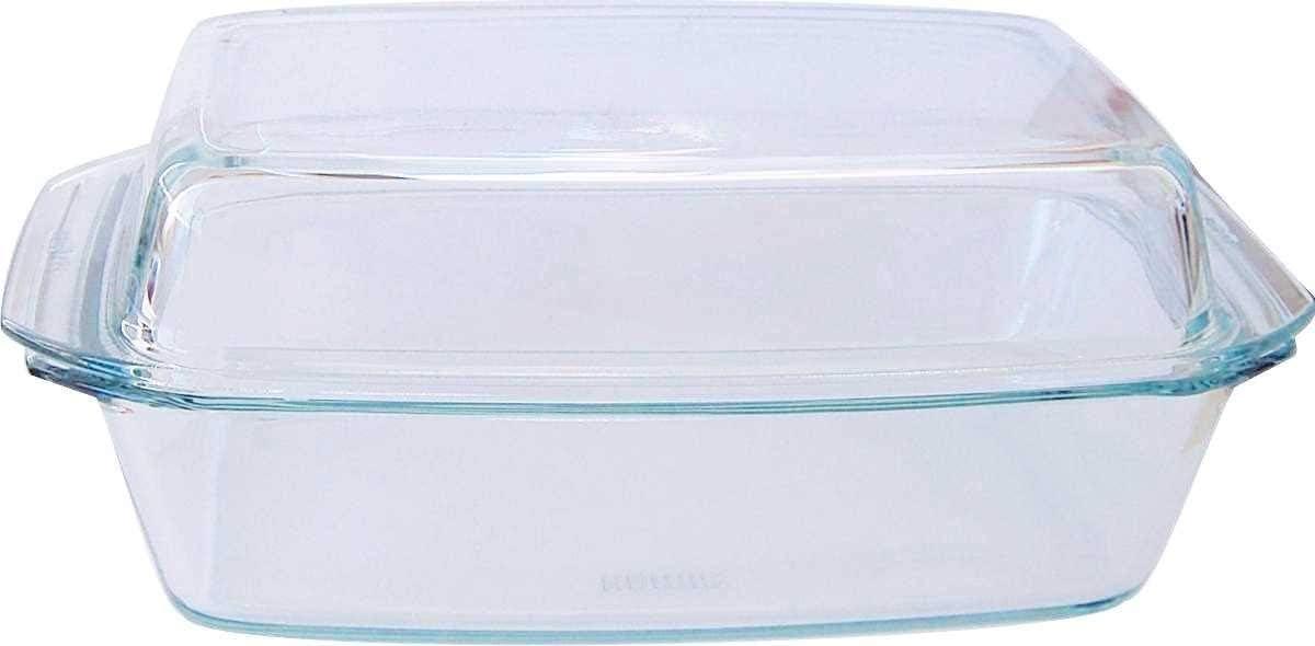 Bohemia Cristal 093/006/031 - Fuente Cuadrada con Tapa Alta (2,8 litros)