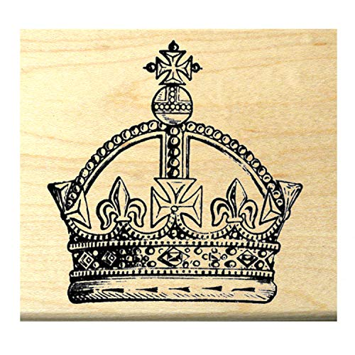 Royal crown rubber stamp WM P5