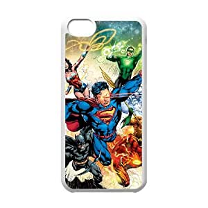 iPhone 5c Cell Phone Case Covers White Justice League W1K4E