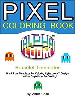 Pixel Coloring Book Bracelet Templates 6 Essential Sizes Annie