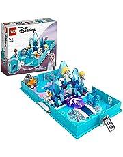 LEGO 43189 Disney Frozen 2 Elsa en de Nokk Verhalen, Avonturen draagbare speelset, Reisspeelgoed voor Kinderen