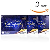 Office Products : Mont Marte Calligraphy Paper Workbook Letters 3Pack, each Pack Contains 50 Sheets