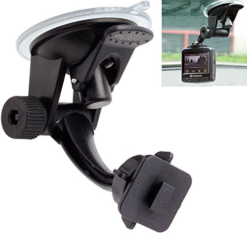 Price comparison product image ChargerCity Stick-On Articulate Sticky Base Windshield & Dashboard Suction Mount for Bully Dog WatchDog & GT 40417 40410 40400 Auto Tuner Programmer Programming Gauge Monitor Device (Suction Mount)