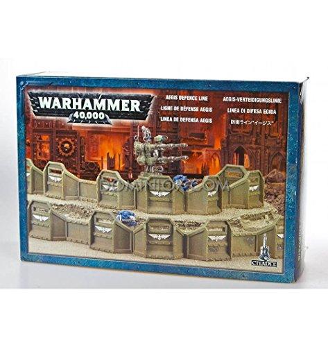 Games Workshop Imperial Aegis Defense Line Planetstrike Warhammer 40K