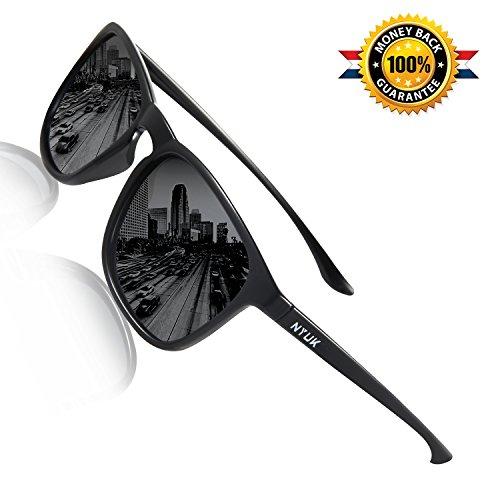 Sunglasses for Men Polarized Wayfarer Womens Uv Protection Unisex Sun Glasses