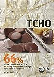 TCHO Chocolate 66% Dark Chocolate Discs, 8 Ounce