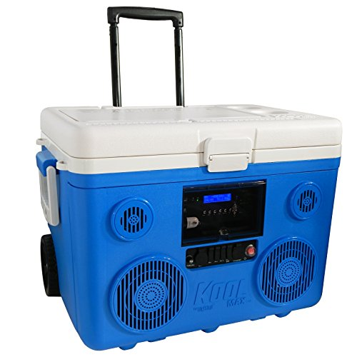 TUNES2GO CA-E065A KoolMAX Bluetooth 350-Watt Portable PA Speaker - And Microphone Frozen Radio
