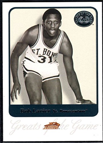 Basketball NBA 2001 Fleer Greats of the Game #7 Bob Lanier