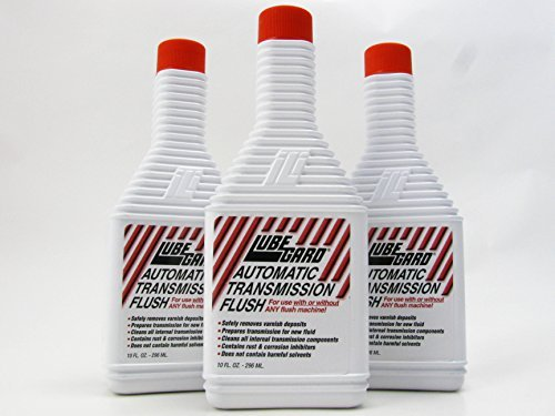 LUBEGARD Lube Gard Automatic Transmission Flush ATF 3 pack by Lubegard