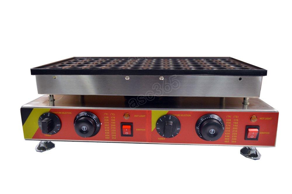 Commercial ElectricMini Dutch Pancake Maker Iron Baker 50pcs 110v 239075