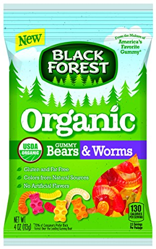 Black Forest Organic Gummy Bears & Worms Candy