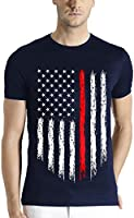 Adro Men's Round Neck T-Shirt Rnusa_Navy_S-NOR