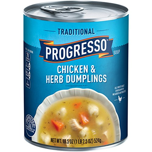 Dumpling Soup (Progresso Traditional Soup, Chicken and Herb Dumplings, 18.5-Ounce Cans (Pack of 12))