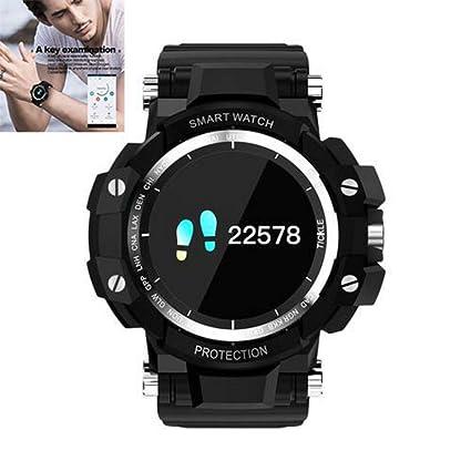 Gereton GW68 Reloj Inteligente a Prueba de Agua IP67 Deportes Smartwatch días Largos Espera Reloj Inteligente