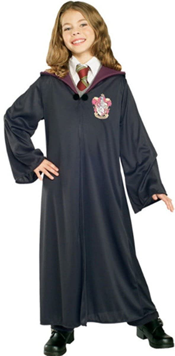 Harry Potter Jugend Erwachsene Robe Umhang Gryffindor Fancy Dress Party Cosplay S M XL--XS for child
