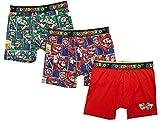 Super Mario Bros Action Underwear 3 Pack Boxer Briefs - X-Small