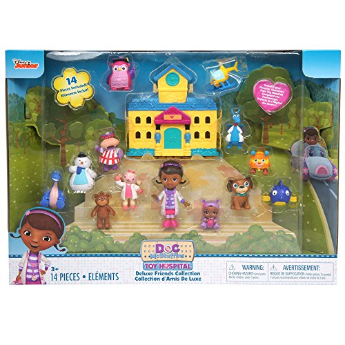 Just Play Doc Mcsruffins Deluxe Figure Pack (Styles may vary) -