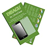 6x Ultra Clear Screen Protector for Huawei Y6