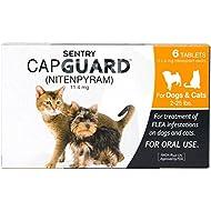 SENTRY Capguard (nitenpyram) Oral Flea Control Medication, 2-25 lbs, 6 count