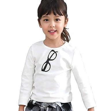 0d6e0fcf9644e  韓国子供服  長袖トップス 女の子 男の子 キッズ ジュニア 100cm 25.めがね×