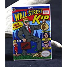 Wall Street Kid NES Game Box Refrigerator Magnet.
