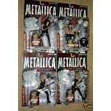 Harvesters of Sorrow Metallica Figure Set of 4 Individually Carded NOT Mint by McFarlane