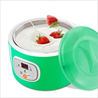Yogurt Maker, Intelligent timed Power Off Yogurt Machine, Home Automatic Rice Wine natto Machine, 1L