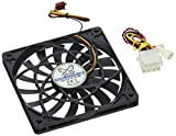 Scythe Slip Stream SY1212SL12M 1600 rpm 120mm Slim Case Fan