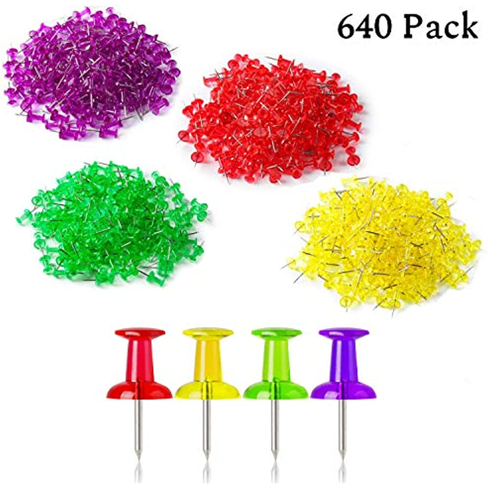 Details about Mr. Pen- Push Pins, Thumb Tacks, Pack Of 640 Pin, For on clear map jackets, clear china map, clear map tacks, clear spray adhesive, clear glitter, clear map of germany, clear acrylic, clear hat pins, clear push pins, clear world map,