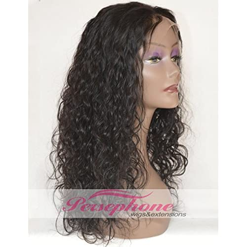 low-cost Brazilian Curly Lace Front Full Wigs Best Remy Human Hair With  Baby Hair 49ceb3c9877a