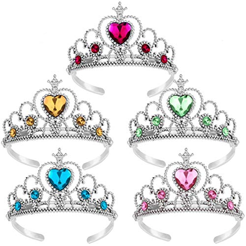 Princess Tiara Crown Set,Girls Dress up Party -