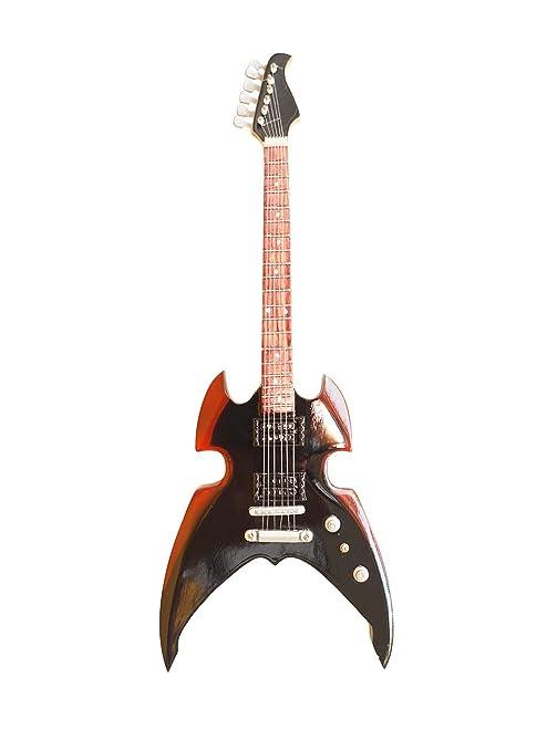 Mini guitarra de colección - Replica mini guitar - Kiss - Paul Stanley - Broken Mirror