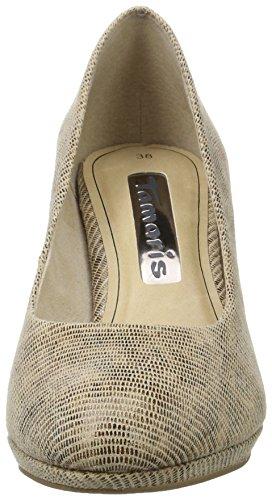 Nature Struct 319 Zapatos Mujer de Beige Tamaris para 22420 Tacón q4TS6aw