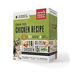 ABOUT FORCE DEHYDRATED DOG FOOD: The Honest Kitchen Force dog food is a dog food to be reckoned with. Packed with delicious, healthy produce and free-range chicken, it's perfect for picky eaters and any hound who can't stomach gluten, grains ...