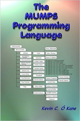 The Mumps Programming Language Kevin C OKane 9781438243382
