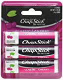 ChapStick Lip Balm, Classic Cherry, 0.15 Ounce (Pack of 6)