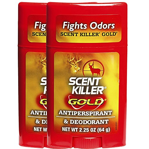 Why Should You Buy Wildlife Research Center Scent Killer Gold Antiperspirant and Deodorant - 2-Pack