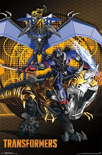 Transformers 4 - Dinobots Poster 22 x 34in ()