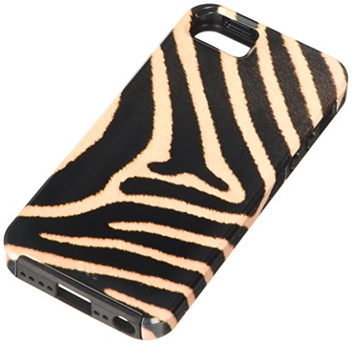 Case-Mate Vibe National Geographic Animal Prints Schutzhülle für Apple iPhone 5, Design Zebra Grevy