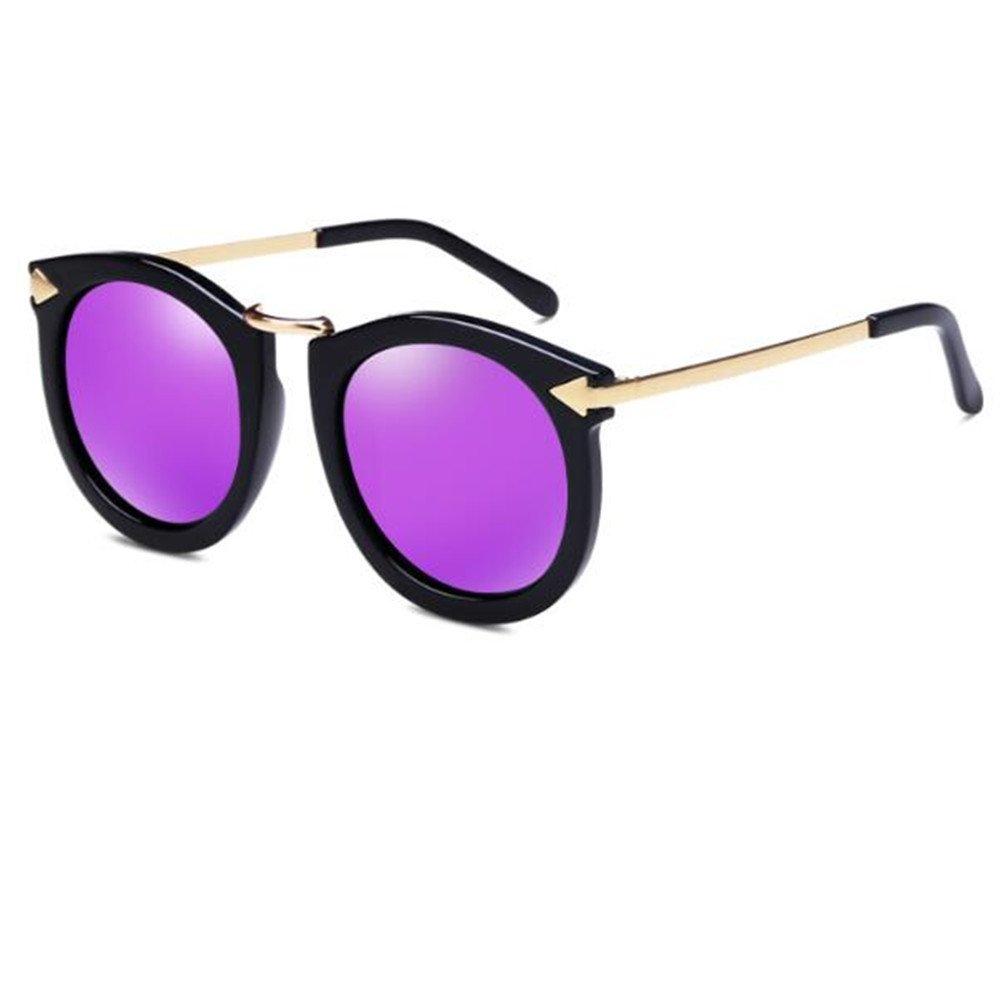 SHULING Sonnenbrille  Big Box Polarisierte Sonnenbrillen, Retro Sonnenbrille Farbe Gläser