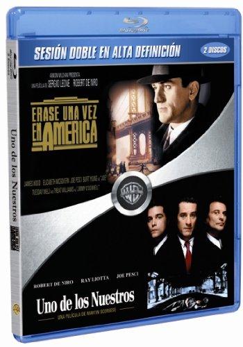 Pack: Érase Una Vez En América/ Uno De Los Nuestros Blu-ray: Amazon.es: Robert De Niro, James Woods, Elizabeth McGovern, Joe Pesci, Ray Liotta, Lorraine Bracco, Sergio Leone, Martin Scorsese, Robert De Niro,
