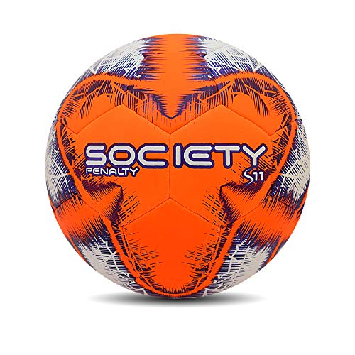 Bola Society S11 R4 Ix Penalty 69 Cm Laranja