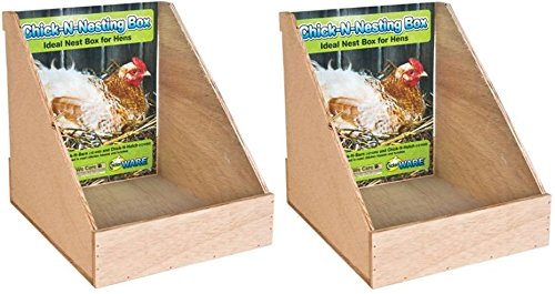 Ware Manufacturing Chick-N-Nesting Box (2-Pack) Hen Box