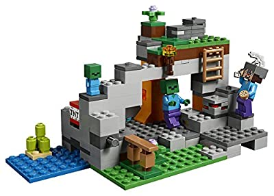 LEGO Minecraft the Zombie Cave 21141 Building Kit (241 Piece) by LEGO