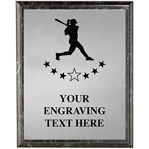 - Crown Awards Softball Plaques, Personalized Softball Player Trophy Plaque Award, Great Custom Engraved Softball Coach Team Gifts